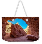 Small Canyon In Chile Weekender Tote Bag