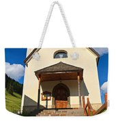 small church in Penia Weekender Tote Bag