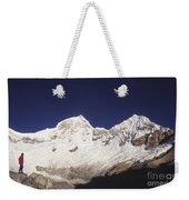 Small Climber Big Peaks Weekender Tote Bag