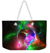 Small Flower Under Magnifying Glass Weekender Tote Bag