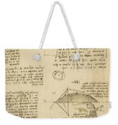 Small Front View Of Church Squaring Of Curved Surfaces Triangle Elmain Or Falcata Weekender Tote Bag