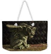 Small Gargoyle Or Grotesque Weekender Tote Bag