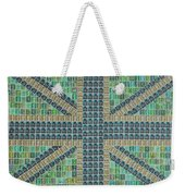 Small Green Flag Weekender Tote Bag