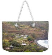 Small North Maui Town Weekender Tote Bag