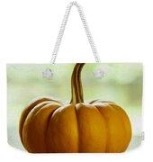 Small Orange Pumpkin Weekender Tote Bag