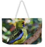 Small Parrot Weekender Tote Bag