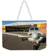 Small Planes In Private Airport Weekender Tote Bag