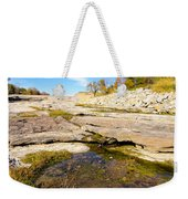 Small Pond Devonian Fossil Gorge Weekender Tote Bag