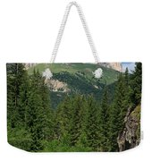 Small Road Along The River Weekender Tote Bag