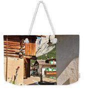 small street in Penia Weekender Tote Bag