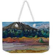 Small Sunriver Scene Weekender Tote Bag