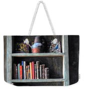Small Tiled Desk Weekender Tote Bag