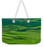 Small Town In The Lush Green Hills Weekender Tote Bag