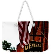 Small Town Patriotism Weekender Tote Bag
