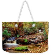 Small Waterfall And Stream 2 Weekender Tote Bag