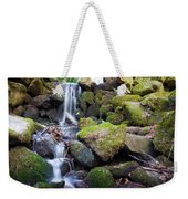 Small Waterfall In Marlay Park Dublin Weekender Tote Bag