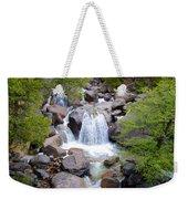 Small Waterfall Near Hwy 120 Roadside In Yosemite Np-ca- 2013 Weekender Tote Bag