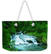 Small Waterfall On The Paradise River Weekender Tote Bag