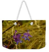 Small Wild Blossoms Weekender Tote Bag