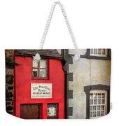 Smallest House Weekender Tote Bag