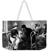 Smallpox Vaccination, 1883 Weekender Tote Bag
