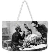Smallpox Vaccine, 1883 Weekender Tote Bag