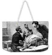 Smallpox Vaccine, 1883 Weekender Tote Bag