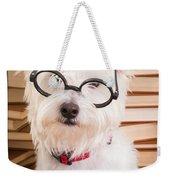 Smart Doggie Weekender Tote Bag