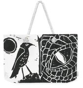 Smaug And The Thrush Weekender Tote Bag