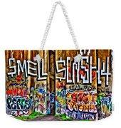 Smell Cash Weekender Tote Bag