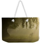 Smelly Goat In The Mist Weekender Tote Bag