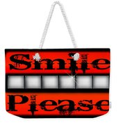Smile Please Weekender Tote Bag