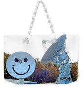 Smiley And 26 West Antennas Weekender Tote Bag