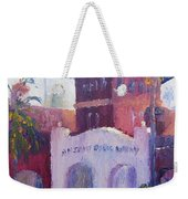 Smiley Library People Weekender Tote Bag
