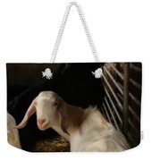 Smiling Goats  Weekender Tote Bag