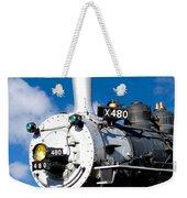 Smiling Locomotive Weekender Tote Bag