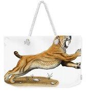 Smilodon Saber-toothed Tiger Weekender Tote Bag