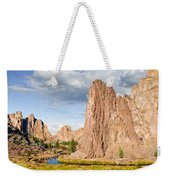 Smith Rock And The Crooked River Weekender Tote Bag