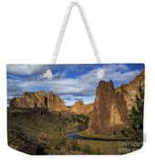 Smith Rock State Park - Oregon Weekender Tote Bag