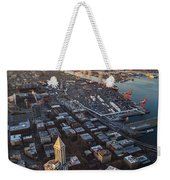 Smith Tower And West Seattle Weekender Tote Bag