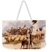 Smithfield Drover, From The Costumes Weekender Tote Bag