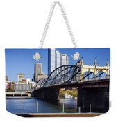 Smithfield Street Bridge Weekender Tote Bag