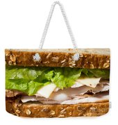 Smoked Turkey Sandwich Weekender Tote Bag by Edward Fielding