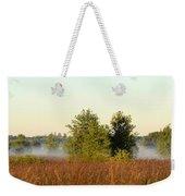 Smokey Autumn Prairie Weekender Tote Bag