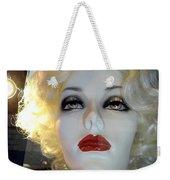 Smokey Eyed Blonde Weekender Tote Bag
