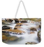 Smokey Mountain Creek Weekender Tote Bag by Adam Romanowicz