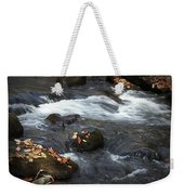 Smokey Mountain Stream In Autumn No.2 Weekender Tote Bag