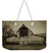Smokey Prairie Barn  Weekender Tote Bag
