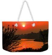 Smokey Sunrise Weekender Tote Bag