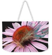 Smoking Beauty Weekender Tote Bag by M Montoya Alicea